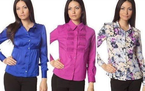 Пошив модных блузок своими руками