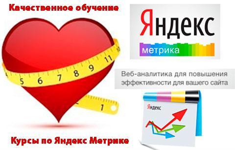 Курсы по Яндекс Метрике