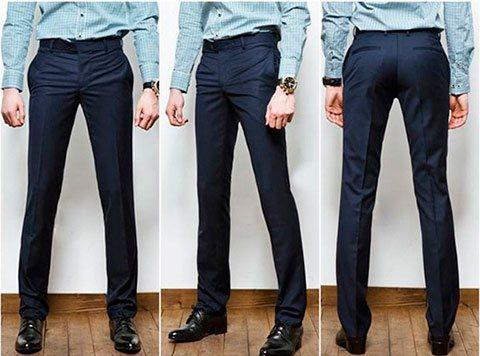 Как сшить мужские классические брюки своими руками