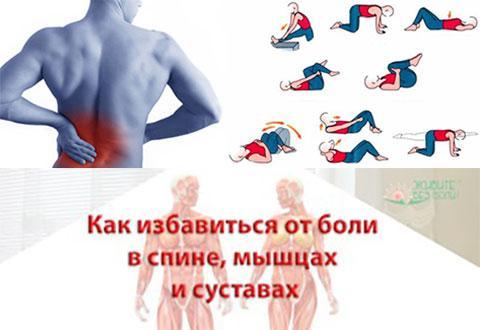 Как избавиться от боли в спине и суставах